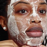 Types of the peel-off mask at home