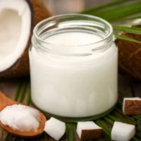 How to prepare coconut oil lotion?
